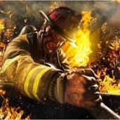 Priemonės ugniagesiams