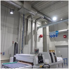 Gesinimo sistema DIAB gamykloje Šiauliuose