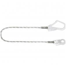 Alpinizmo lynas su plieniniu automatinio fiksavimo kabliu ir plieniniu pastolių kabliu