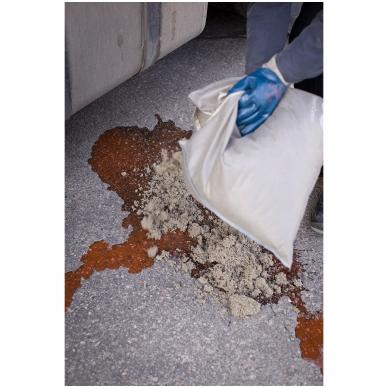 Birus absorbentas 1 kg maišelyje su užtrauktuku 3
