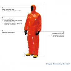 Cheminis kostiumas Drager Protec Plus TC