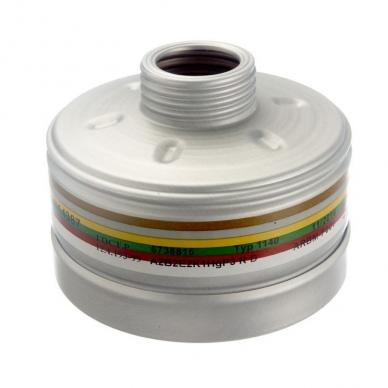 Kombinuotas filtras Drager 1140 A2B2E2K1 Hg P3 R D