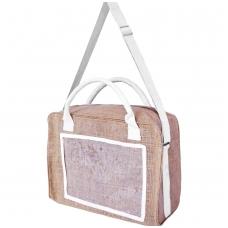 Džiuto krepšys su 2 rankenomis ir nešimo diržu, 30 litrų