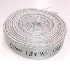 Gaisrinė žarna Ø52mm L20m 13bar