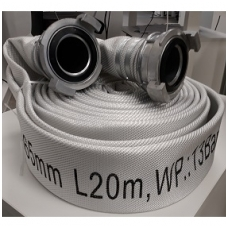 Gaisrinė žarna 65mm L20m su GOST AL antgaliais