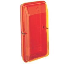 Gesintuvo dėžė, ABS plastikas (raudonas), dangtis atsparus UV (geltonas)