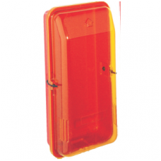 Gesintuvo dėžė H835xL370xD245mm ABS plastikas Raudonas, dangtis atsparus UV geltonas
