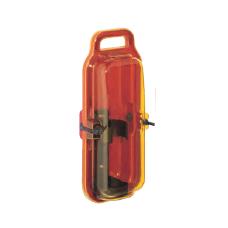 Gesintuvo dėžė su rankena H418xL172xD105mm ABS plastikas raudonas, dangtis atsparus UV geltonas