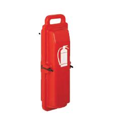 Gesintuvo dėžė su rankena H486xL152xD130mm ABS plastikas Raudona