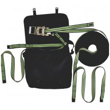 Horizontali austinė gelbėjimo virvė 2 naudotojams