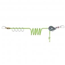 Horizontali austinė gelbėjimo virvė 4 naudotojams (su O formos žiedais)