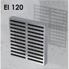 Priešgaisrinės grotelės stačiakampės INTU FR GRILLE EI120