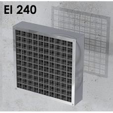 Priešgaisrinės grotelės stačiakampės INTU FR GRILLE EI240