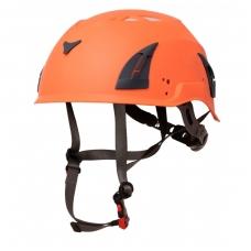 Oranžinės spalvos Fox šalmas