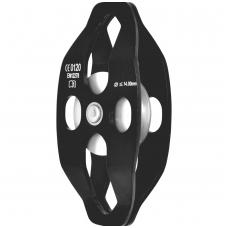 Paprastas skriemulys su judančiais flanšais, aliuminio skridinys - dvipusis prijungimas