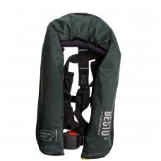 Pripučiama gelbėjimo liemenė Besto žalia 165N Manual/Harness