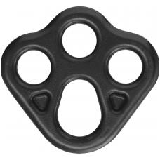 Saugos taškų plokštelė, maža - 3 skylės ankeravimo prietaisams