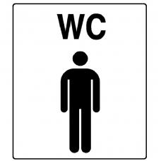 """Lipdukas """"WC vyras"""""""
